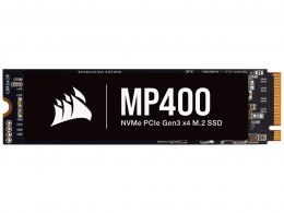 Corsair SSD MP400 2000 GB, SSD form factor M.2 2280, SSD interface PCIe NVMe Gen 3.0 x 4, Write speed 3000 MB/s, Read speed 3480