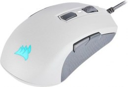 Corsair Ambidextrous Multi-Grip Gaming Mouse M55 RGB PRO Wired, 12400 DPI, 1000 Hz, White