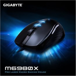 Gigabyte Mouse M6980X Wired, Black, No, Gaming
