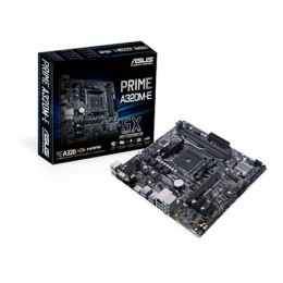 Asus PRIME A320M-E Processor family AMD, Processor socket AM4, DDR4-SDRAM 2133,2400,2666,2933,3200 MHz, Memory slots 2, Supporte
