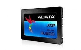 "ADATA Ultimate SU800 256 GB, SSD form factor 2.5"", SSD interface SATA, Read speed 560 MB/s, Write speed 520 MB/s"