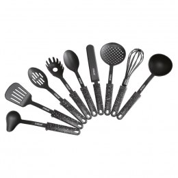 Stoneline Kitchen utensil set, Material nylon, handles made of PP, 9 pc(s), Dishwasher proof, black
