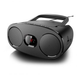 New-One RD306 Black, Portable radio CD player,
