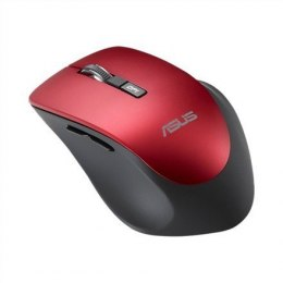 Asus WT425 wireless, Red, Mouse