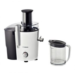 Juicer Bosch MES25A0 Type Centrifugal juicer, Black/White, 700 W, Extra large fruit input, Number of speeds 2