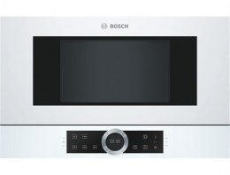 Bosch Microwave Oven BFL634GW1 21 L, Touch, 900 W, White, Built-in, Defrost function