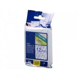 Brother TZe-133 Laminated Tape Blue on Clear, TZe, 1.2 cm, 8 m