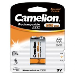 Camelion 9V/6HR61, 250 mAh, Rechargeable Batteries Ni-MH, 1 pc(s)