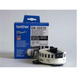 Brother DK-22210 Continuous Length Paper Label White, DK, 29mm, 30.5 m