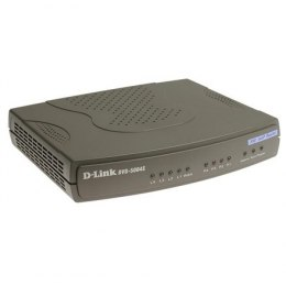 D-Link DVG-5004S 4-Port VoIP Station Gateway, Integrated 4-Port Switch, Built-in Remote Router, Voice Compression Format, DSL/Ca