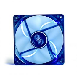 "120 mm case ventilation fan, ""Wind Blade 120"", transparent, hydro bearing,4 LED's deepcool"