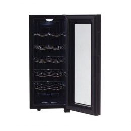 Camry Wine Cooler CR 8068 Free standing, Bottles capacity 12, Black