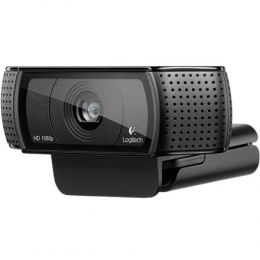 Logitech C920 Black, up to 1920 x 1080 pixels pixels, 720p, 1080p, USB 2.0, USB port