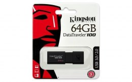 Kingston DataTraveler 100 G3 64 GB, USB 3.0, Black