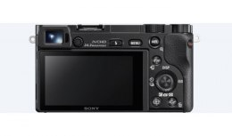 "Sony ILCE6000B.CEC Mirrorless Camera body, 24.3 MP, ISO 25600, Display diagonal 3 "", Wi-Fi, Exmor APS HD CMOS, Black, Image stab"