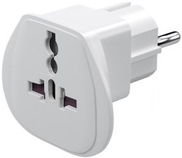 Travel adapter, (UK, US, IT, CH, to EU), 94026. Goobay