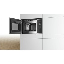 Bosch Microwave Oven BFL554MS0 Built-in, 31.5 L, Retractable, Rotary knob, Start button, Touch Control, 900 W, Stainless steel,