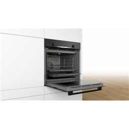 Bosch Oven HBA530BS0S Built-in, 71 L, Stainless steel, Eco Clean, A, Push pull buttons, Height 60 cm, Width 60 cm, Integrated ti