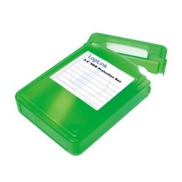 "Logilink HDD Protection Box for 3.5"" HDDs UA0133G Green"