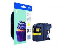 Brother LC123Y Ink Cartridge, Yellow