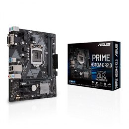 Asus PRIME H310M-K R2.0 Processor family Intel, Processor socket LGA1151, DDR4, Memory slots 2, Chipset Intel H, Micro ATX