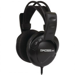 Koss Headphones DJ Style UR20 Headband/On-Ear, 3.5mm (1/8 inch), Black, Noice canceling,