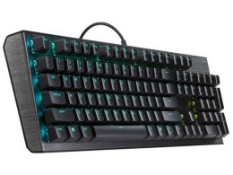 Cooler Master CK550, Gaming, RGB LED light, US, Black, Wired, Red Switch,