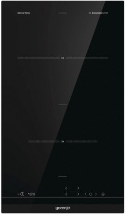 Gorenje Hob IT321BCSC Induction, Number of burners/cooking zones 2, Black, Display, Timer