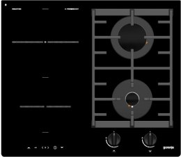 Gorenje Hob GCI691BSC Induction and gas, Number of burners/cooking zones 4, Black, Timer
