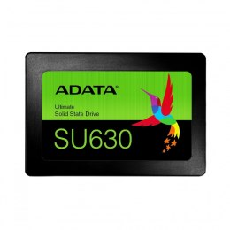 "ADATA Ultimate SU630 3D NAND SSD 240 GB, SSD form factor 2.5"", SSD interface SATA, Write speed 450 MB/s, Read speed 520 MB/s"