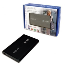 "Logilink External hard drive enclosure, black 2.5"", SATA, USB 3.0"