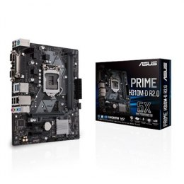 Asus PRIME H310M-D R2.0 Processor family Intel, Processor socket LGA1151, DDR4, Memory slots 2, Chipset Intel H, Micro ATX