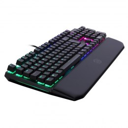 Cooler Master MasterKeys MK750, Gaming, US, RGB LED light Yes, Wired, Brown Switch, Black