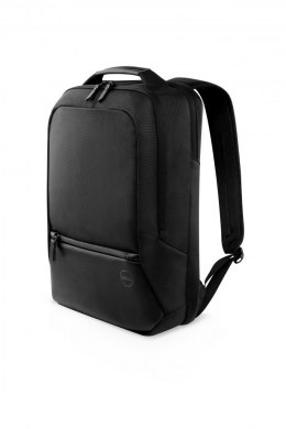 "Dell Premier Slim 460-BCQM Fits up to size 15 "", Black with metal logo, Backpack"