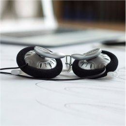Koss Headphones KSC75 In-ear/Ear-hook, 3.5 mm, Silver,