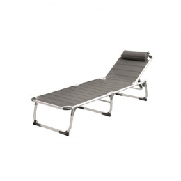 Outwell Foldable Sunbed New Foundland 120 kg, Grey