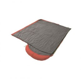 Outwell Campion Lux, Sleeping bag, 225 x 85 cm, 5/-1/-16 °C, Red