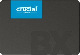 "Crucial BX500 480 GB, SSD form factor 2.5"", SSD interface SATA, Write speed 500 MB/s, Read speed 540 MB/s"