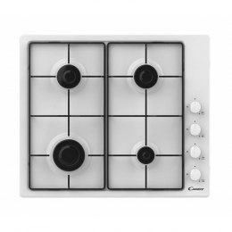 Candy Hob CHW6LWW Gas, Number of burners/cooking zones 4, White,