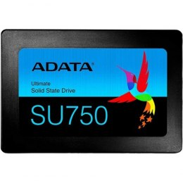 ADATA SSD SU750 256 GB, SSD interface SATA, Write speed 520 MB/s, Read speed 550 MB/s