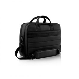 "Dell Premier 460-BCQL Fits up to size 15 "", Black with metal logo, Shoulder strap, Messenger - Briefcase"