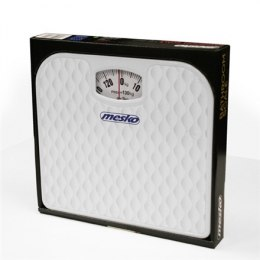 Mesko Scale MS 8160 Mechanical, Maximum weight (capacity) 130 kg, Accuracy 1000 g, White