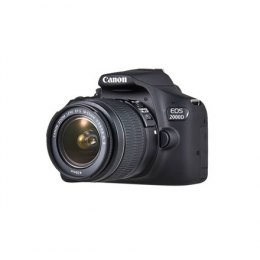 "Canon EOS 2000D 18-55 III EU26 SLR Camera Kit, Megapixel 24.1 MP, Image stabilizer, ISO 12800, Display diagonal 3.0 "", Wi-Fi, Vi"