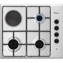 Candy Hob CMG3H1X Gas, Number of burners/cooking zones 4, Mechanical, Stainless steel