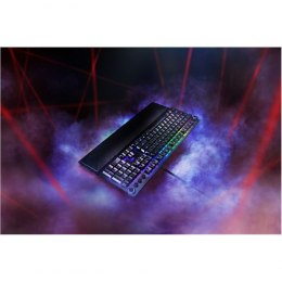 Razer Huntsman Elite, Gaming, Nordic, Opto-Mechanical, RGB LED light Yes, Wired, Black