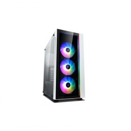 Deepcool MATREXX 55 V3 ADD-RGB WH 3F White, ATX, Power supply included No