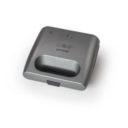 Gorenje Sandwich maker SM703GCG Number of plates 3, Number of sandwiches 2, 700 W, Diameter 10 x 20 cm, Grey