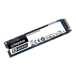 Kingston A2000 1000 GB, SSD interface M.2 NVME, Write speed 2000 MB/s, Read speed 2200 MB/s